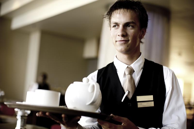 Room Service Waiter Name Tag
